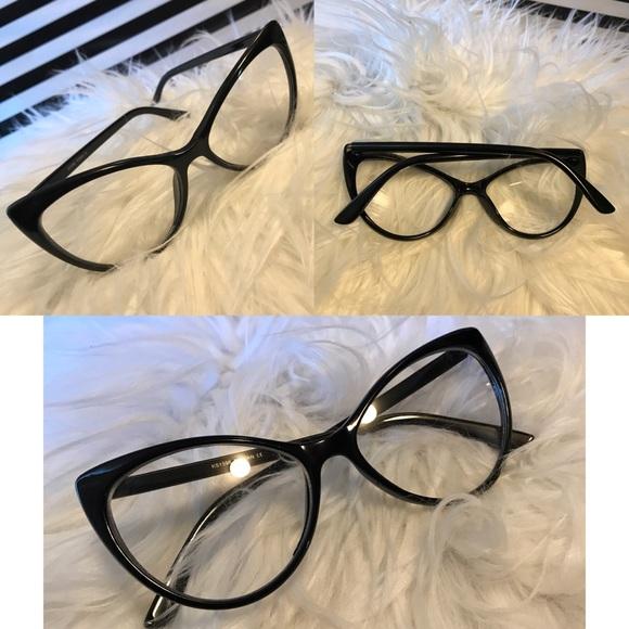 cf64dff03038 fashion glasses Accessories - Vintage inspired black cat eye glasses